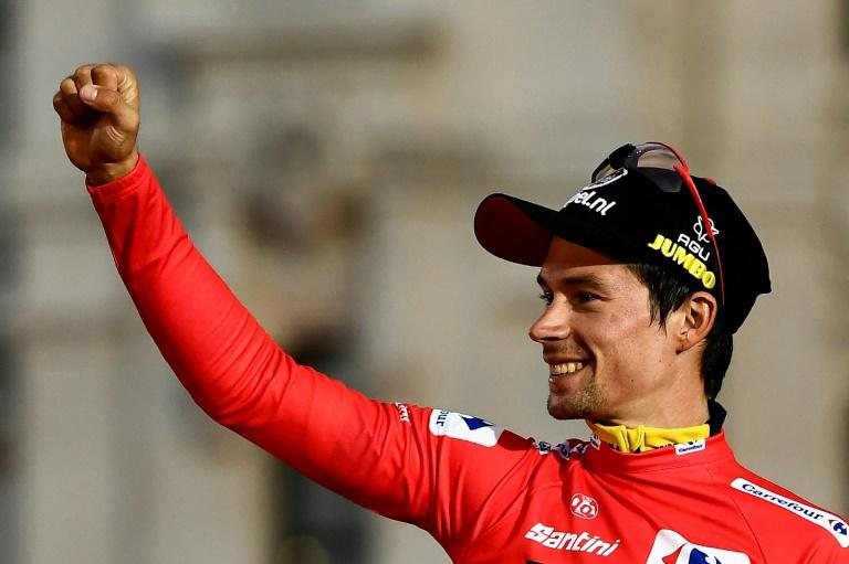 Slovenia's Primoz Roglic won the Tour of Romandy before going on to be crowned Vuelta champion in 2019