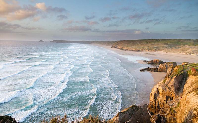 Cornwall's unsullied coastline and the cute little towns are likely to tempt Britons looking for post-lockdown escapism - BEN IVORY