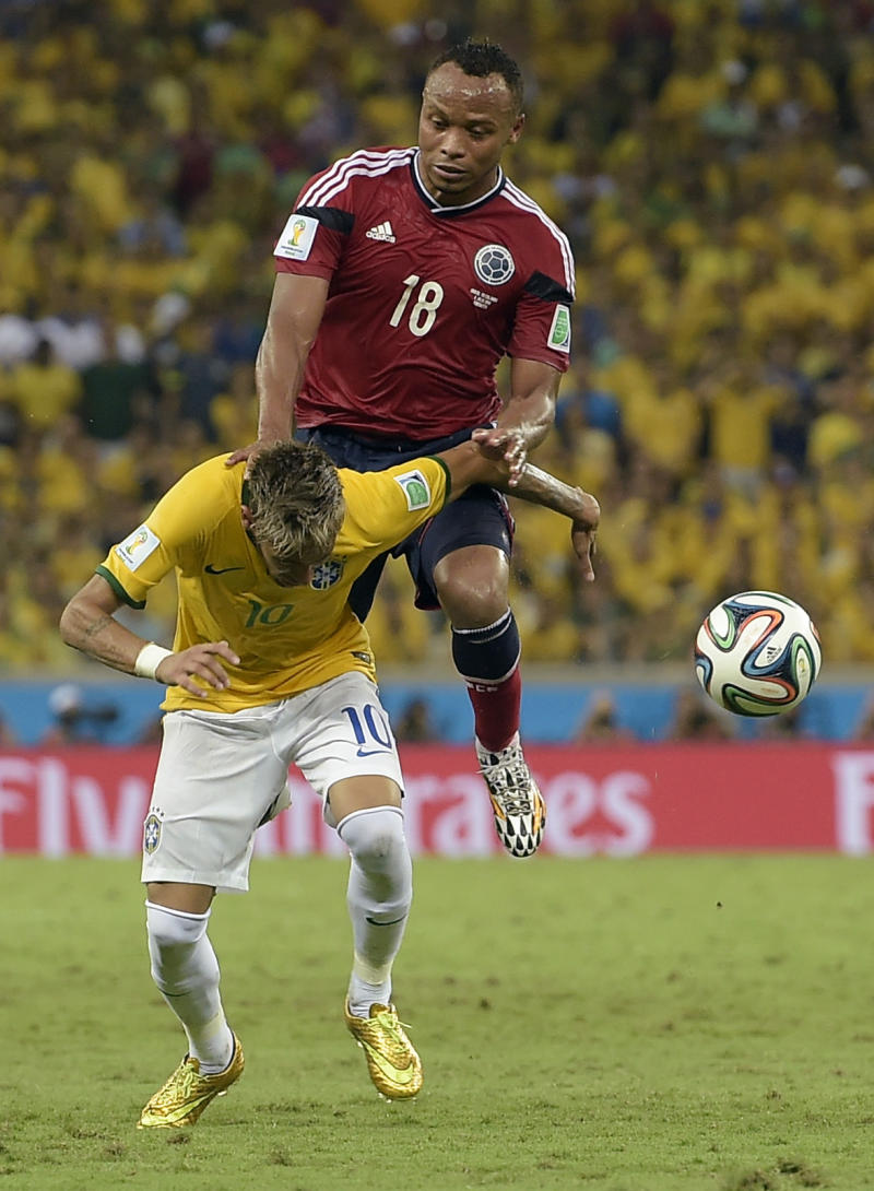 FIFA takes no action over challenge on Neymar