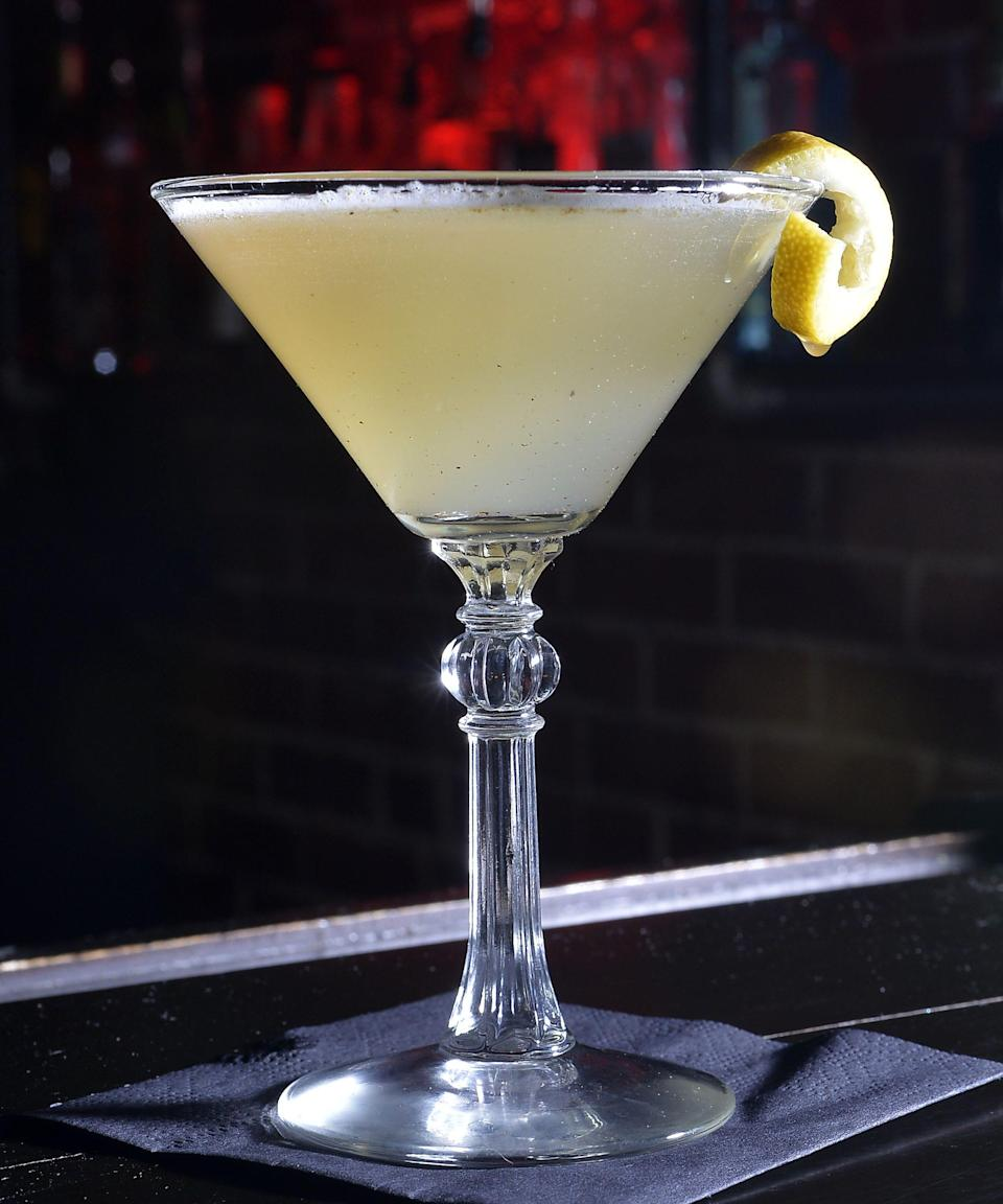 A Bee's Knees mocktail is an option for those trying to practice Dry January at Room 33 Speakeasy in Erie.