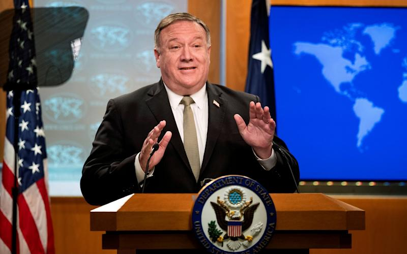 Mike Pompeo lashed put over new security law  - Reuters