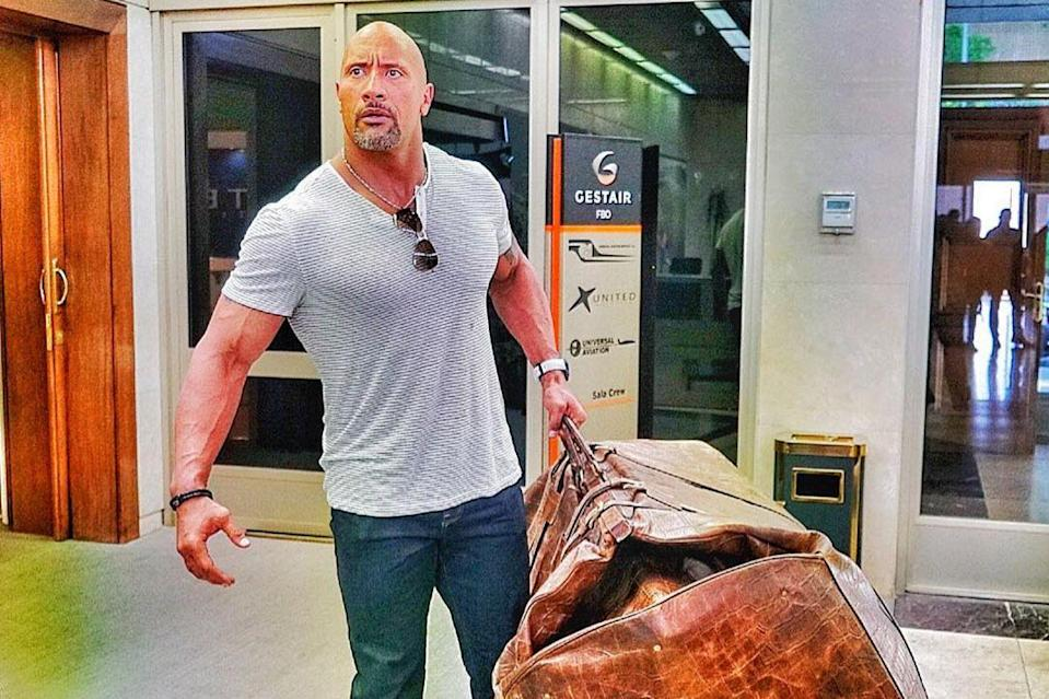 You can now hire, 'The Rock' to help you with moving