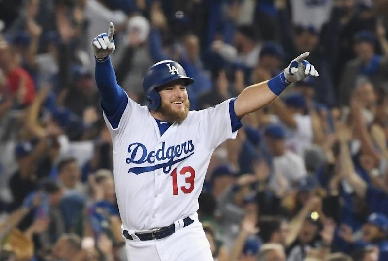 premium selection 76e15 e1ff5 Dodgers hero Muncy in dreamland after walkoff winner