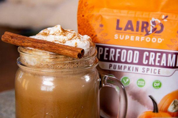 PHOTO: Laird superfood creamer now offers a pumpkin spice flavor. (Laird)