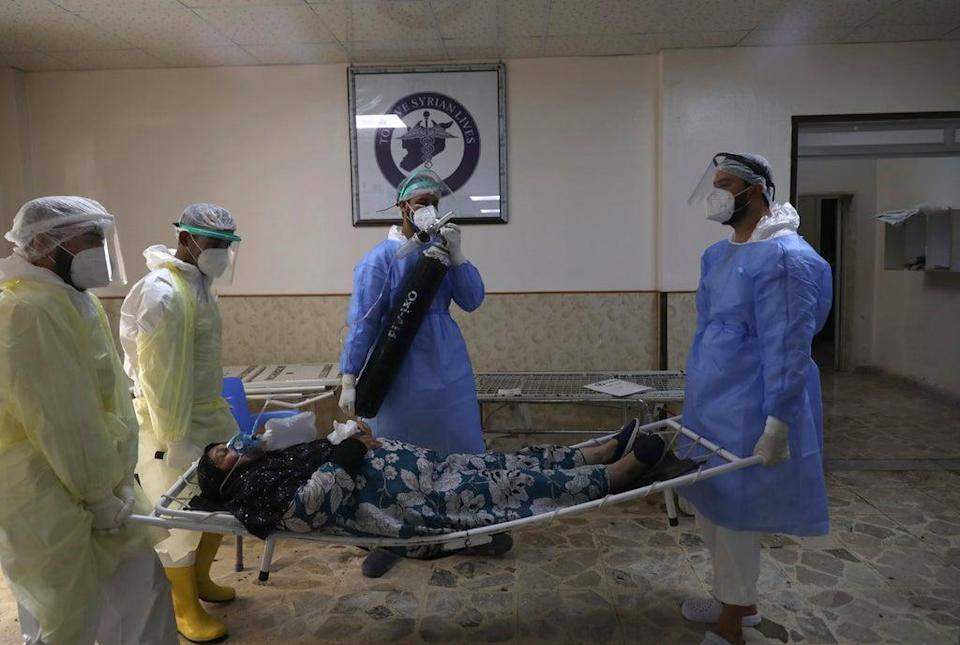 Virus Outbreak Syria Rebel Enclave (Copyright 2021 The Associated Press. All rights reserved)