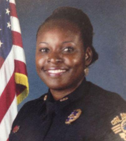 Slain Orlando police officer, Master Sgt. Debra Clayton, is shown in this undated handout photo in Orlando, Florida, provided January 9, 2017.  Courtesy Orlando Police Department/Handout via REUTERS