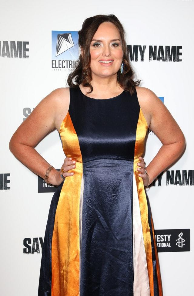 Deborah Frances-White at the gala screening for Say My Name