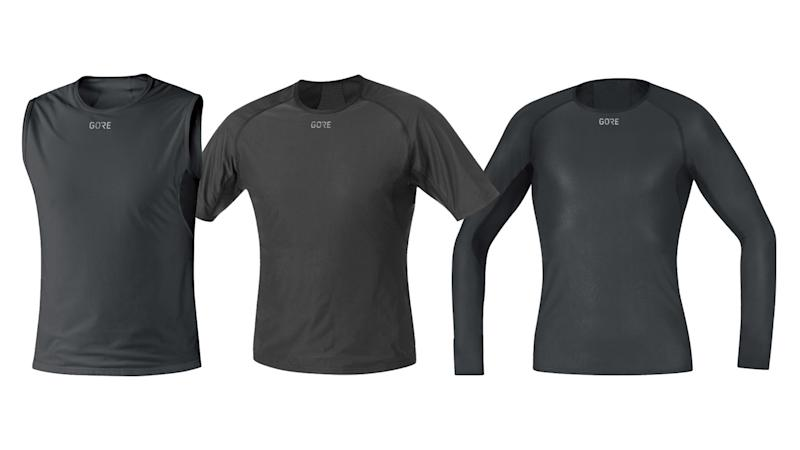 best cycling base layers - gore windstopper