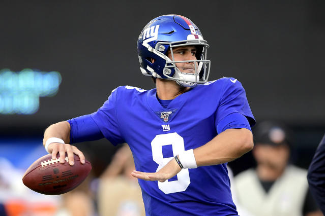 Giants rookie quarterback Daniel Jones started hot in his second preseason game. (Getty Images)