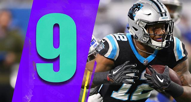<p>The Panthers lost, and their decision to go for two and the win at the end was questionable, but rookie D.J. Moore's seven-catch, 157-yard day was a nice development. It seems like the Panthers might have finally found a real No. 1 to grow with Cam Newton. (D.J. Moore) </p>