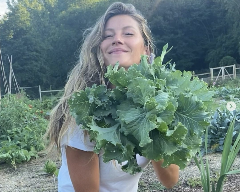 Gisele prefers not to eat processed foods. (Photo: Instagram)