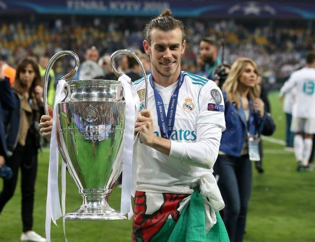 Bale, who moved for what was understood to be a then world-record fee of 100million euros (£85.3m), has won the Champions League four times with Real (Nick Potts/PA).
