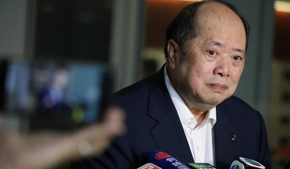 Investors were unshaken by the announcement of the latest US penalties, says lawmaker Christopher Cheung. Photo: Nora Tam