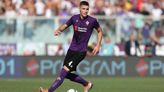 The Fiorentina defender was heavily linked with the Red Devils during the summer transfer window, with the Serie A club confirming a bid was lodged