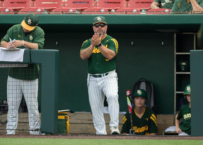 A hazing incident last February has led to the suspension of 14 Baylor baseball players.