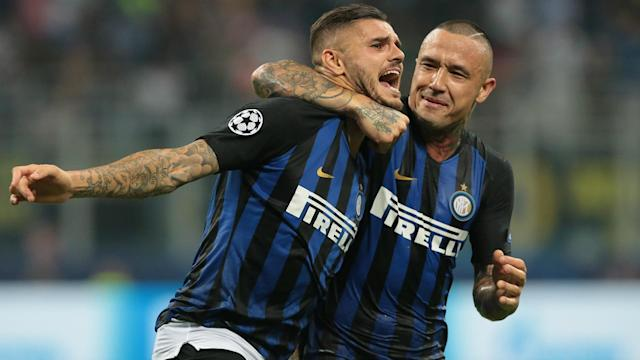 "Having described the environment at Inter as ""ugly"" during the past few weeks, Mauro Icardi revelled in Tuesday's 2-1 triumph."