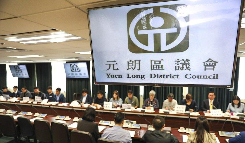 Members of Hong Kong's 18 district councils face new oath-taking requirements. Photo: Winson Wong