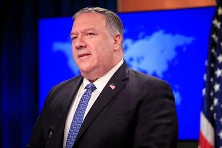 Pompeo says U.N. Security Council to vote next week on extending Iran arms embargo