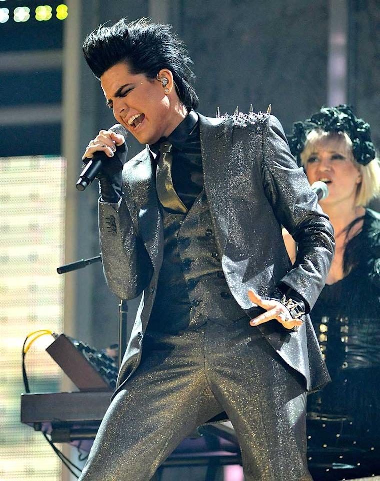 "Adam Lambert's sexually charged performance at the AMAs brought not laughs but complaints -- some 1,500 of them, according to ABC. As a result, the network canceled the ""Idol"" runner-up's appearance Monday on ""Good Morning America."" Kevin Mazur/AMA2009/<a href=""http://www.wireimage.com"" target=""new"">WireImage.com</a> - November 22, 2009"