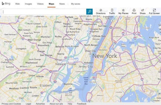 If you don't want to use Google Maps, you can always opt for Bing Maps.