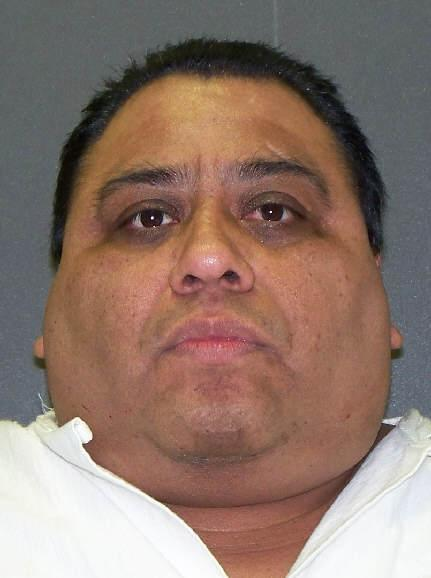 FILE - Convicted killer Ramiro Hernandez-Llanas who was scheduled to die April 9, 2014, is shown in this file image provided by the Texas Department of Criminal Justice. On Wednesday, April 2, 2014, a federal appeals court threw out a ruling requiring the Texas prison system to disclose more information about where it gets lethal-injection drugs, reversing a judge who had halted an upcoming execution. (AP Photo/Texas Department of Criminal Justice, File)