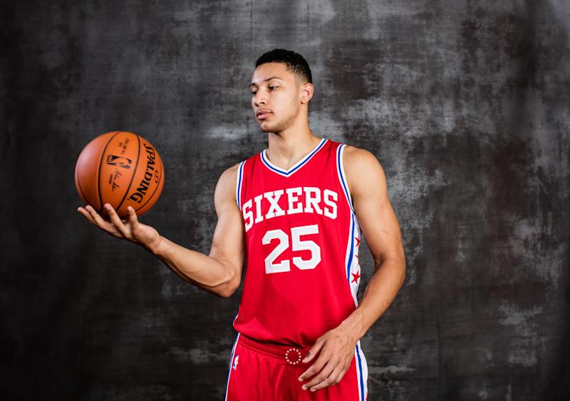Ben Simmons could be the key to the 76ers showing progress. (Getty)