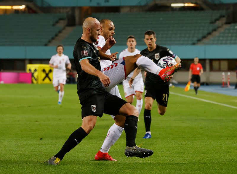 World Cup Qualifiers Europe - Group F - Austria v Denmark