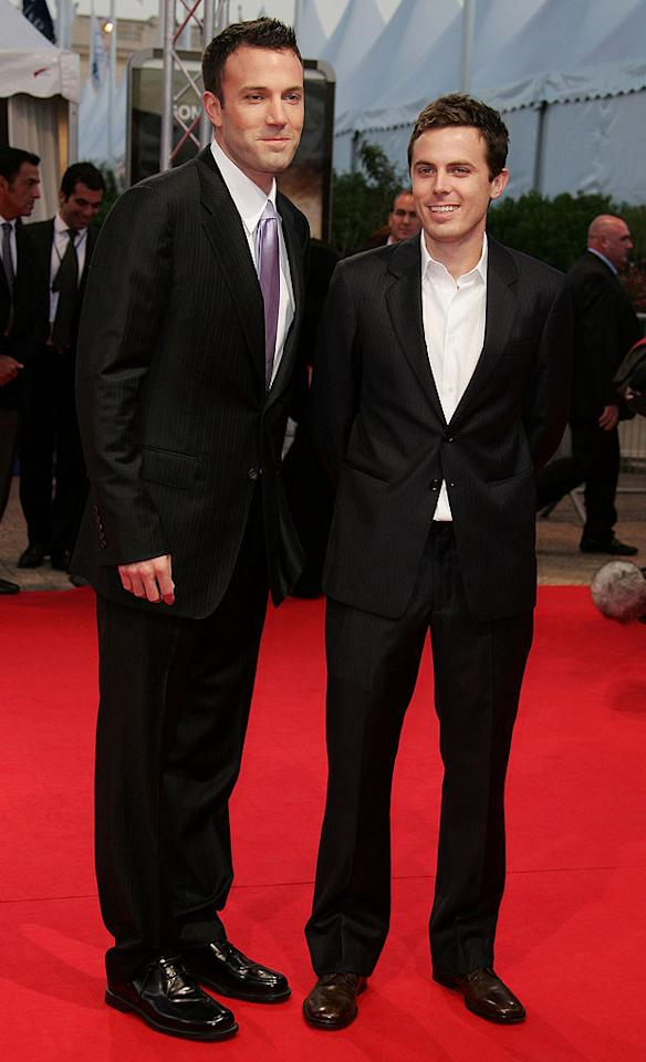 Ben Affleck and Casey Affleck at the 33rd Deauville American Film Festival premiere of Gone, Baby, Gone - 09/05/2007