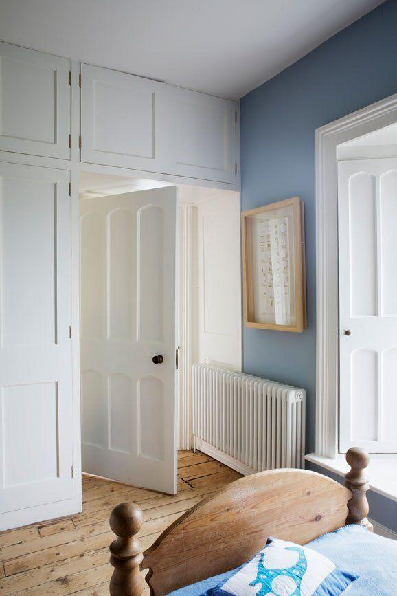 """<p>A classic country palette - pale woods, crisp whites and a soft sky blues are the perfect combination for any room that needs to be calming and restful. A third match here would be small pops of cheerful yellow. </p><p>Pictured: <a href=""""https://www.farrow-ball.com/paint-colours/lulworth-blue"""" rel=""""nofollow noopener"""" target=""""_blank"""" data-ylk=""""slk:Lulworth Blue at Farrow & Ball"""" class=""""link rapid-noclick-resp"""">Lulworth Blue at Farrow & Ball</a></p>"""