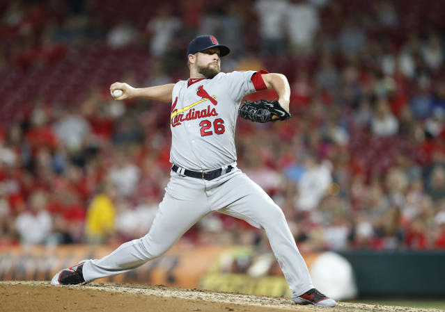 "<a class=""link rapid-noclick-resp"" href=""/mlb/players/8540/"" data-ylk=""slk:Bud Norris"">Bud Norris</a> has been a major profit player all year, but is that in jeopardy for the second half? (AP Photo/Gary Landers)"