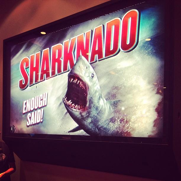 #sharknado #enoughsaid