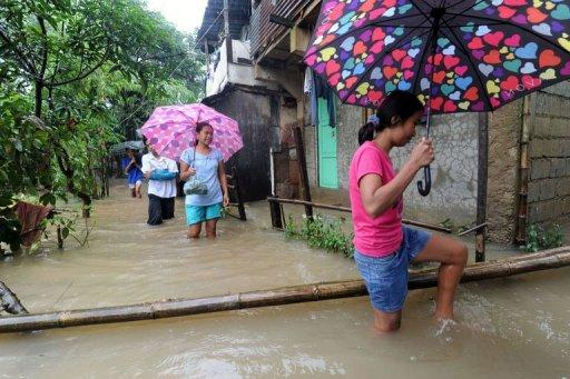 The death toll from eight days of sustained rains in the Philippines has risen to 53