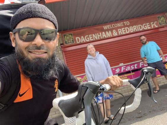 Emdad Rahman 'truly gives his life to helping people'