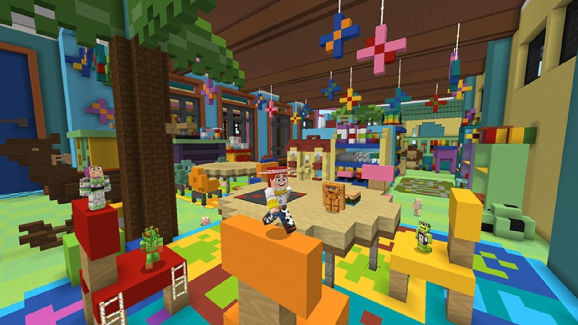 The Toy Story Mash-Up Pack had a big month in Minecraft.