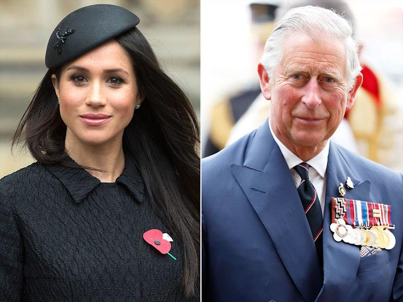 Meghan Markle and Prince Charles