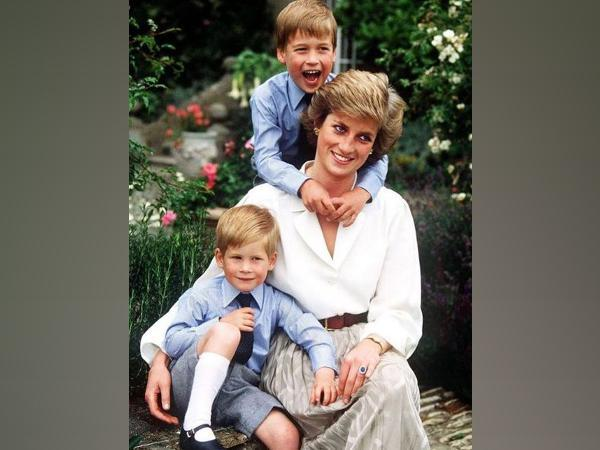 Childhood photo of Prince Harry and Prince William with their mother Princess Diana (Image Source: Instagram)