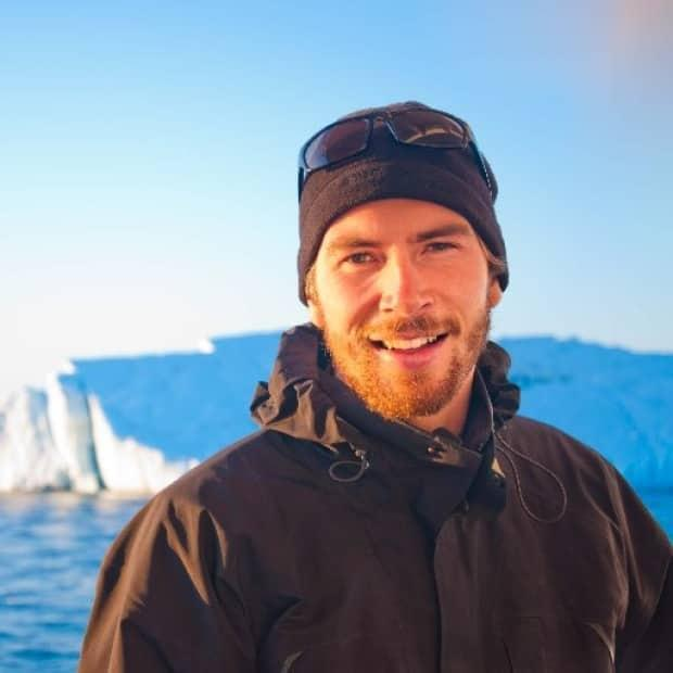 Maxime Geoffroy is a research scientist at the Marine Institute in St. John's. He's the chief scientist aboard a research vessel that explored the depths of the Labrador Sea this summer. (Maxime Geoffroy/Twitter - image credit)