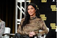 """<p>Another plant-based treat Kim loves to eat is an acai bowl. She showed one of her concoctions off on <a href=""""https://www.usmagazine.com/food/pictures/kim-kardashians-plant-based-meals-photos/acai-bowl/"""" rel=""""nofollow noopener"""" target=""""_blank"""" data-ylk=""""slk:social media"""" class=""""link rapid-noclick-resp"""">social media</a>, complete with mangoes, strawberries, banana, blueberries, and chia seeds. </p>"""