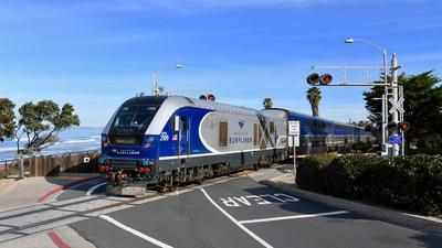 Amtrak Pacific Surfliner Works with the Los Angeles Angels to Raise Awareness of Rail Safety