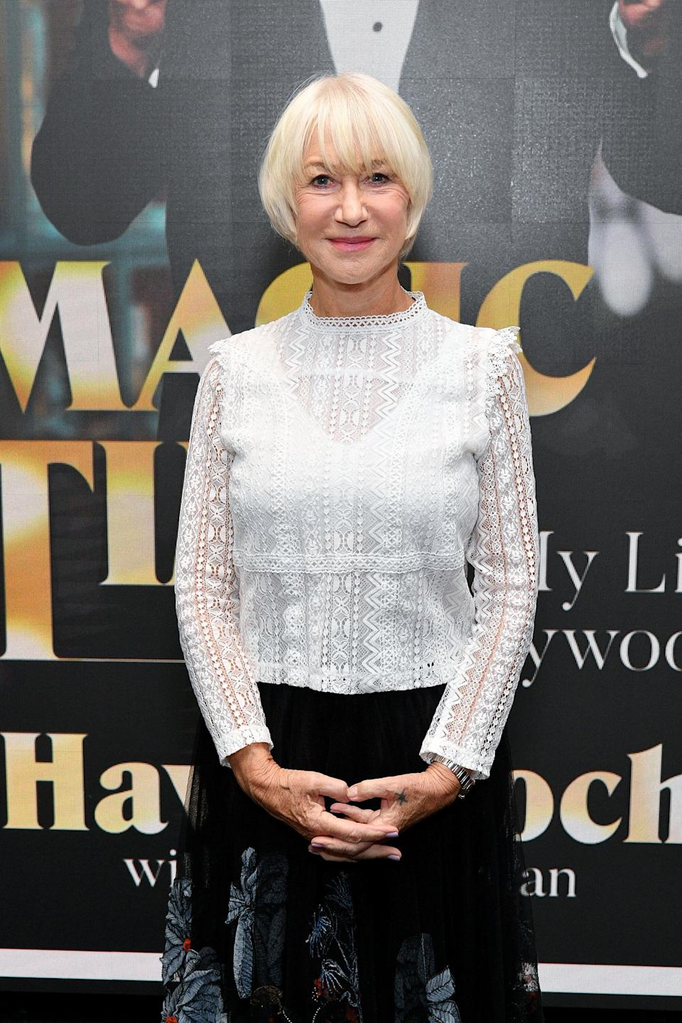 Dame Helen Mirren (Photo: Dia Dipasupil via Getty Images)