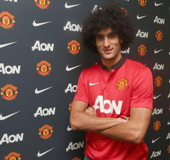 New signing Marouane Fellaini was added to Manchester United's UEFA Champions League for the group states. (Getty Images)