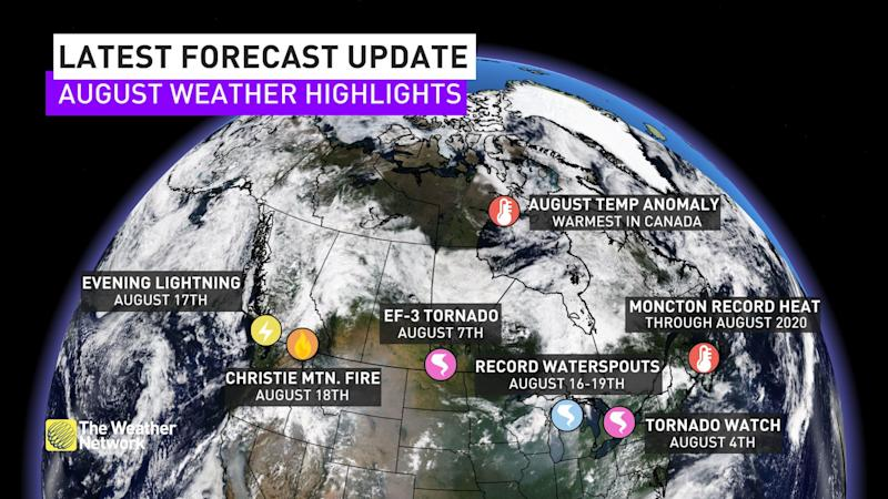 Weather highlights
