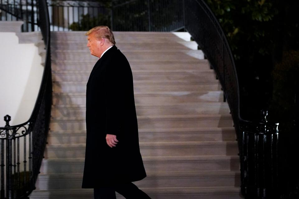 Donald Trump is the first president in US history to be impeached twice. (Getty Images)