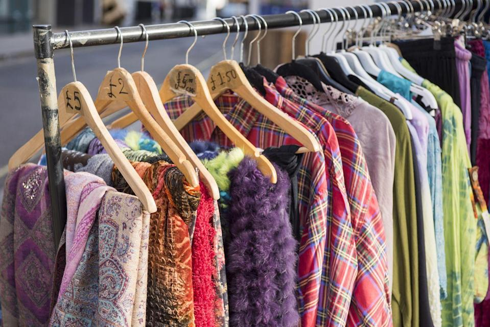 <p>Head to a few eclectic thrift stores and have a fashion show for each other. Bonus points for whoever picks out the most ridiculous outfit.</p>