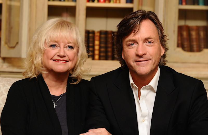 Judy Finnigan and Richard Madeley with author Rosamund Lupton (centre) unveil the eight new titles of their Spring Book Club, exclusively with WHSmith at the Soho Hotel in London.