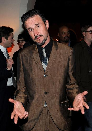 <p>David Arquette used Twitter, the brave man's forum, to apologise for giving us all too much information about the reasons behind this split from Courtney Cox. That's right David, the world didn't need to know that things weren't so hot in the bedroom, but thanks for sharing.</p>