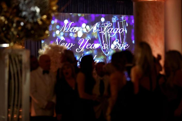 mar a lago new year