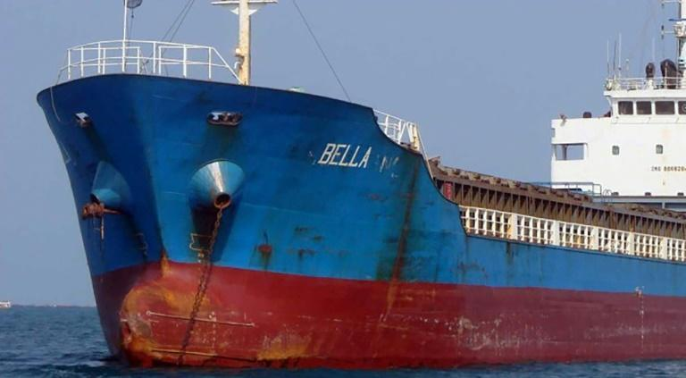 Bella, one of four oil tankers that the United States said in August 2020 that it had seized en route from Iran to Venezuela
