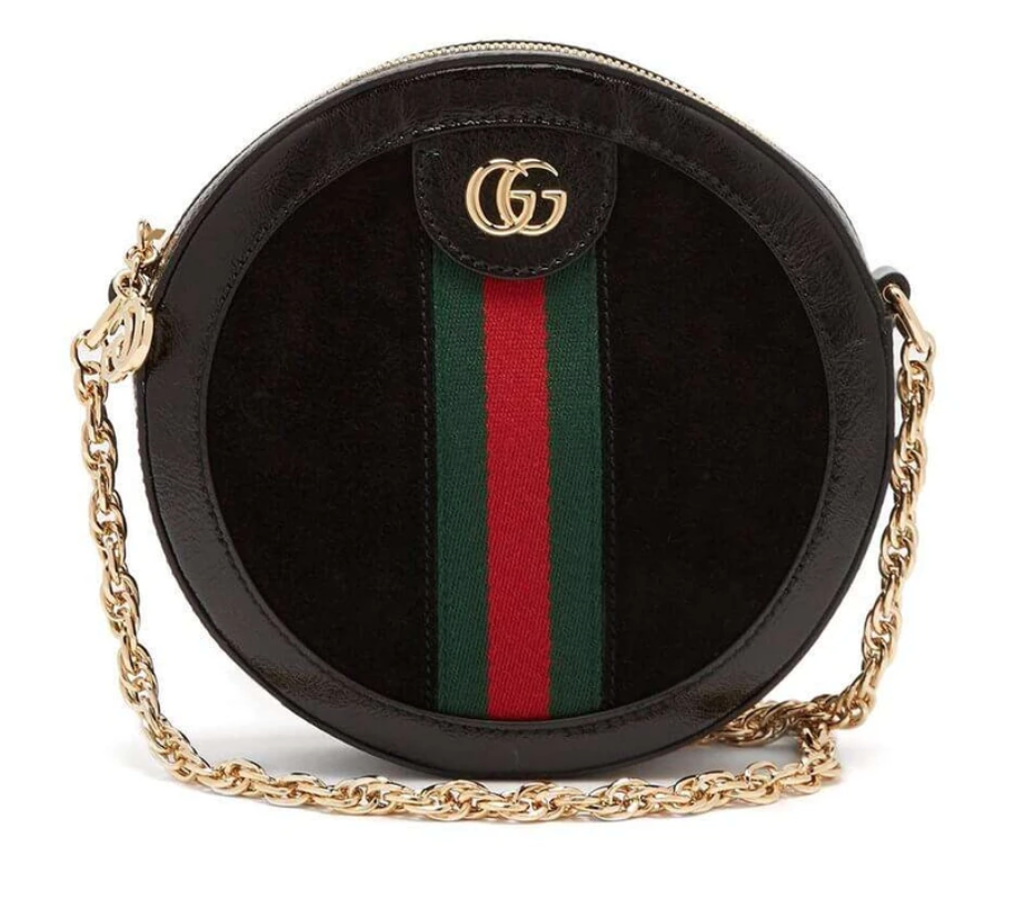 round Gucci bag on sale