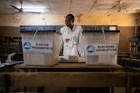 An undisclosed number of troops were deployed for the presidential and parliamentary polls